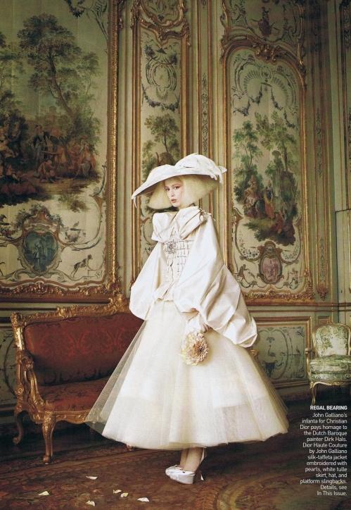 John Galliano styled by Grace Coddington