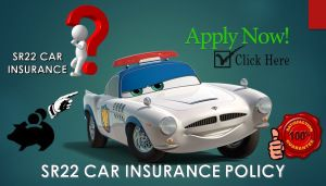 Car Insurance policy with SR 22