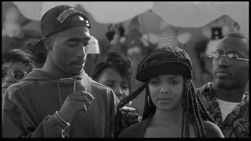 Janet Jackson Fan Art: Tupac and Janet Jackson - Poetic Justice