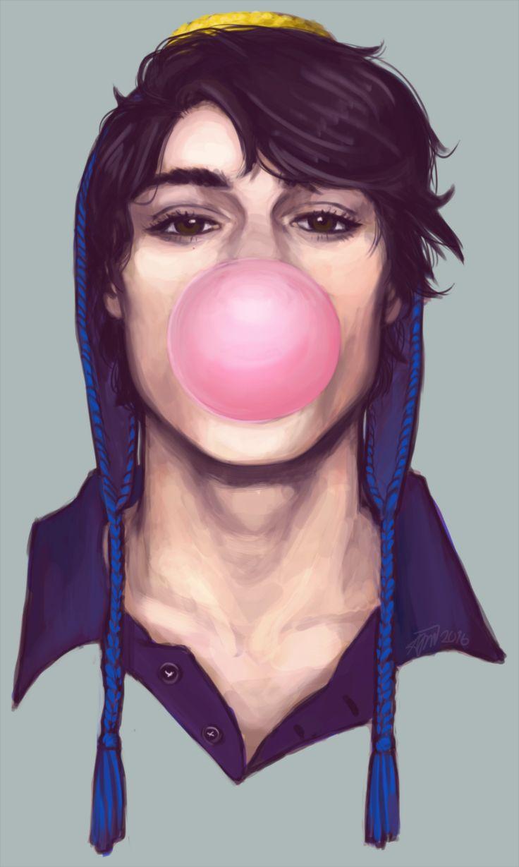 By adrianne-draws on tumblr - UHHHHHHH realistic looking Craig >w<