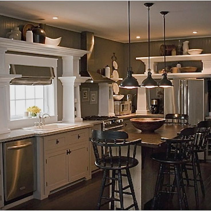 Open Concept Kitchen Shelves: 17 Best Ideas About Open Shelving In Kitchen On Pinterest