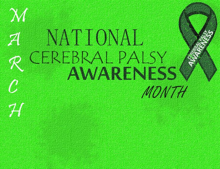 March National Cerebral Palsy Awareness Month - Flyer 3