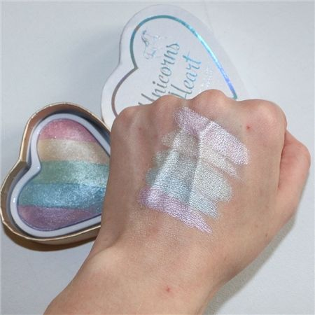 Beautiful!! Magical unicorn highlighter by Makeup Revolution!
