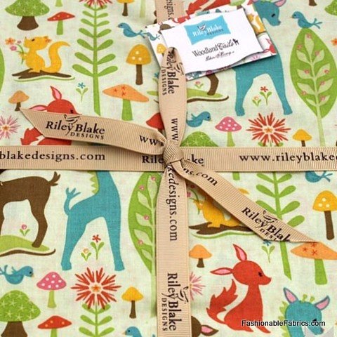 Fabric... Woodland Tails Layer Cake by Sherri Berry