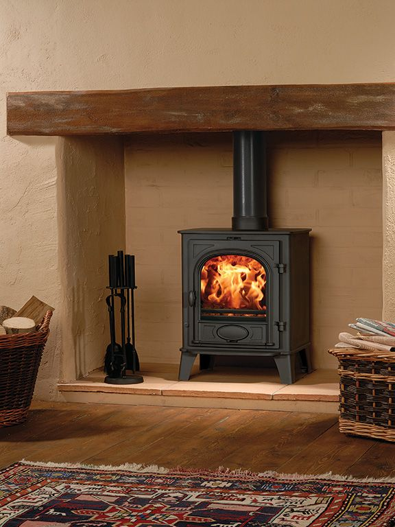 Matt-Black-Stovax-Stockton-6-Mark2-multi-fuel-stove-burning-logs.jpg (576×768)