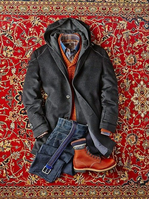 mens layers for fall and winter attire