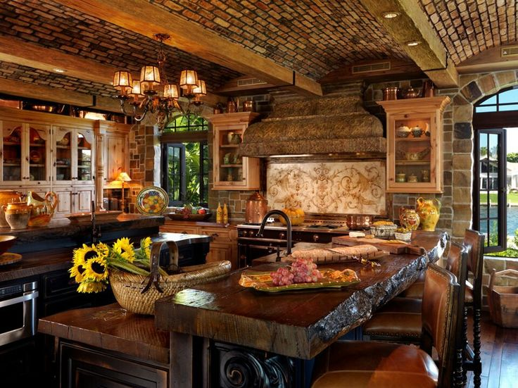 47 Best Images About Rustic Kitchens & Furniture On Pinterest