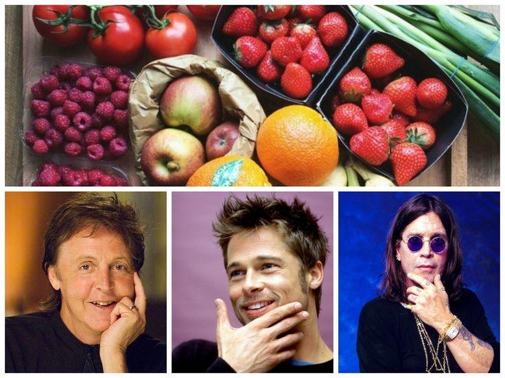 Известно, что вегетарианство весьма популярно среди знаменитостей. Наиболее известные «звездные» вегетарианцы : Пол Маккартни, Оззи Осборн, Шинейд О'Коннор,Брэд Питт и другие.