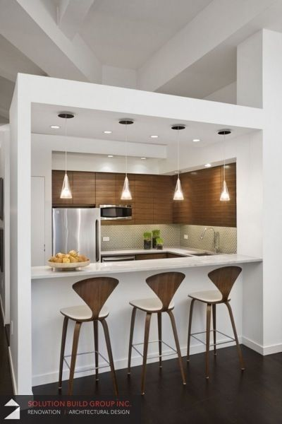 Kitchen Idea, Condo Renovation project done by Solution Build Group Inc.