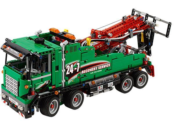 Construis le réaliste camion de service LEGO® Technic et pars dépanner !