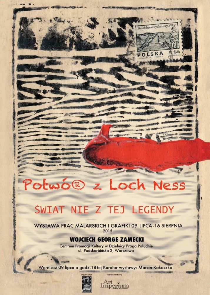 Potwór z Loch Ness - George Zamecki - wystawa