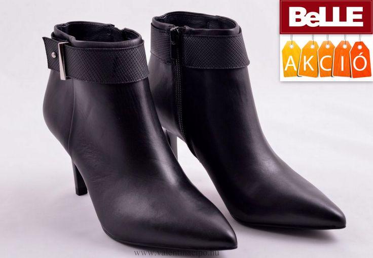 Egyedi BeLLE elegáns női bokacipő, kedvezményes áron vásárolható a Valentina Cipőboltokban és webáruháunkban! Várjuk nagy szeretettel :)  http://valentinacipo.hu/belle/noi/fekete/bokacipo/139986139  #BeLLE #BeLLE_cipő #Valentina_cipőbolt #BeLLE_webshop
