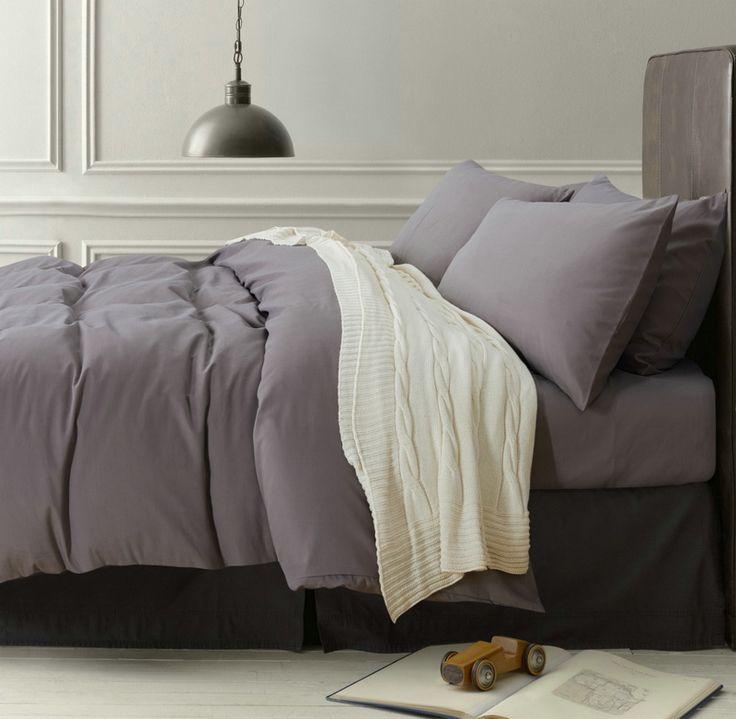 Minimalism Gray Bedding Scandinavian Design Bedding Teen Bedding Kids  Bedding Part 54
