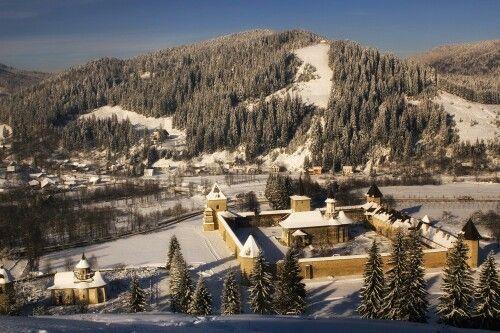 Manastirea Sucevita Romania
