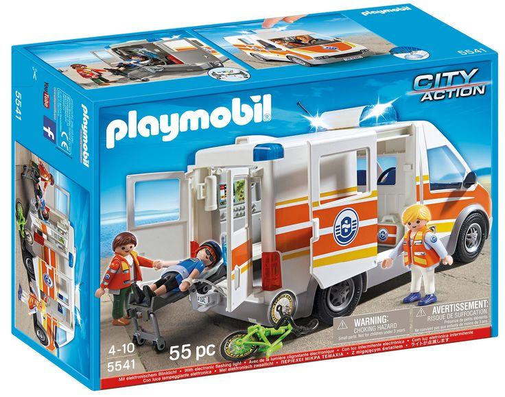 PLAYMOBIL Ambulance with Siren Set