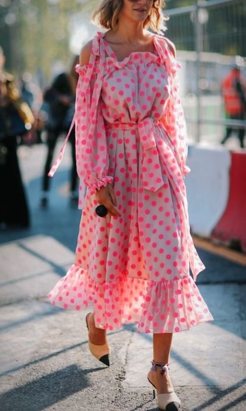 Maxi Dresses can be high fashion, and an make the perfect street-style look. Here are all the best maxi dresses for every body and fashion style. We love this blush off the shoulder...