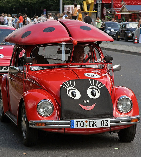 What a car, little lady!