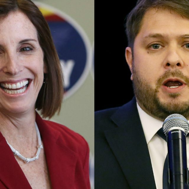 WASHINGTON - Republican Rep. Martha McSally and Democratic Rep. Ruben Gallego were sworn into office Tuesday as the newest House members from Arizona.
