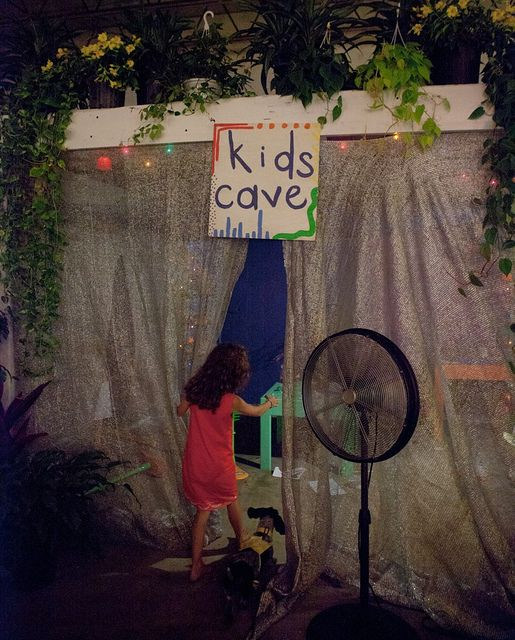 This is a MUST at my wedding. I would love to have an area for the kids to just go hang out at with different games, xbox, wii etc. Plus I want a candy bar and I picture room with lots of props :)