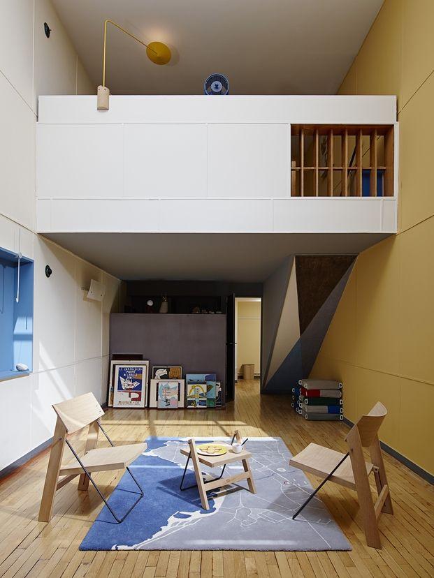 Appartement 50, el famoso apartamento de la Cité Radieuse de Le Corbusier, intervenido por estudiantes de la Universidad de Arte y Diseño de Lausana ECAL.