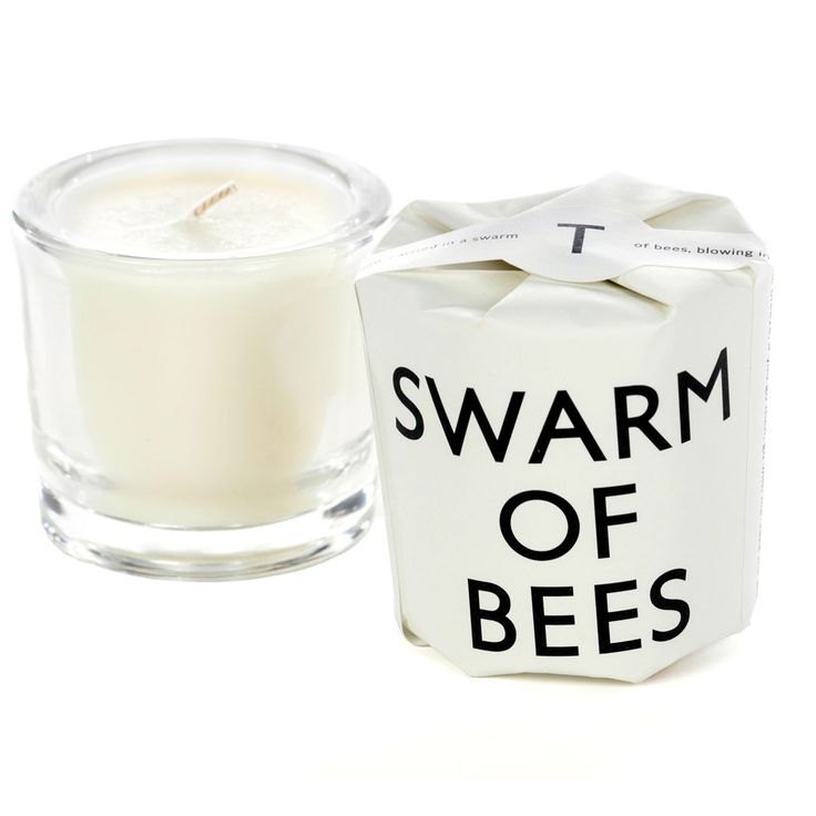 Swarm Of Bees. Shop now at The Candle Library. Tatine Candles are handmade in Chicago using a soy wax blend.