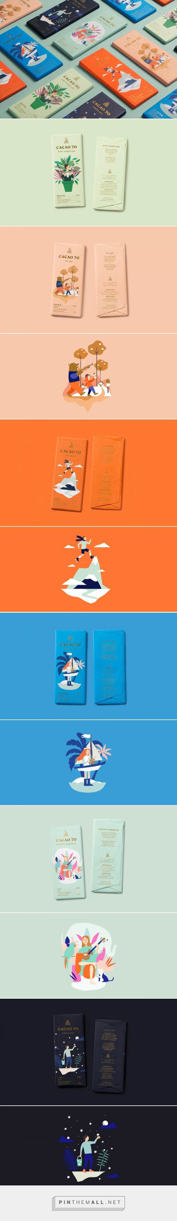 Chocolate Brand packaging | design by In Good Company