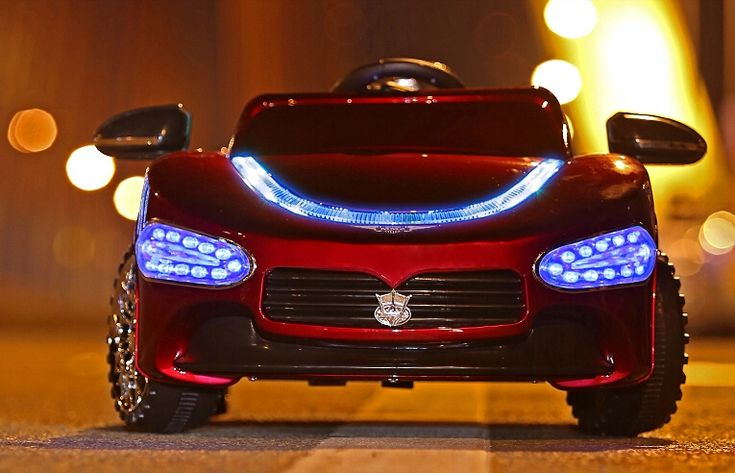 Hot-selliing Maserati Children Electric Car Ride On with Remote Controller and Blue Headlight