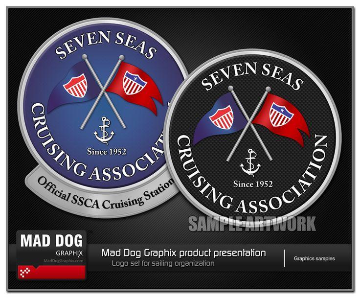Logo Seven Seas by MadDogGraphix.com