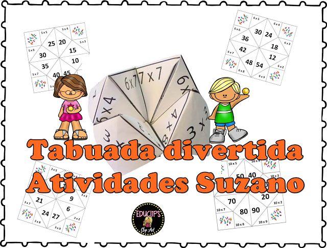 Tabuada divertida- Srª Paula Teles - Atividades Adriana