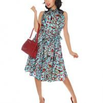 Heather Dress by Folter Retrolicious