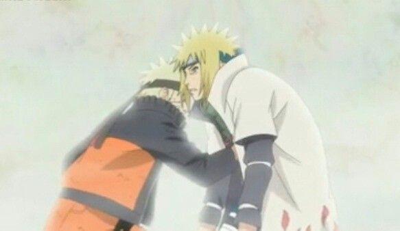 Minato es enfrentado por su hijo.