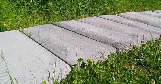 Suora betonilankku, harmaa - Betonikalusteet - 1749 - 1