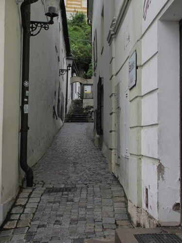 Melk side alley