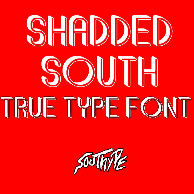 Shadded South