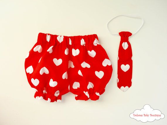Baby Boy Bloomers Baby Boy Tie Baby Outfit by DoloresBabyBoutique