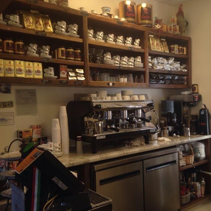 Professional Baristas Serve The Finest Of Imported Italian Coffee At Bel  Bacio, A Place Where