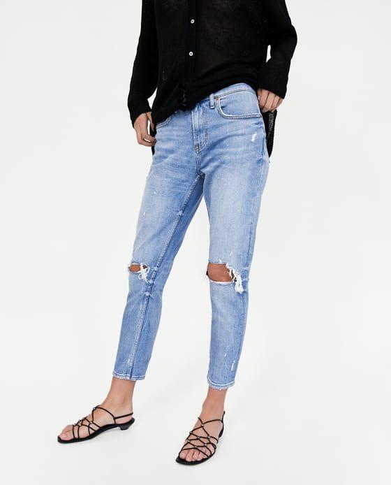 2 Boyfriend Venice Jeans Zara Slim From Image Blue Of LjMqUVGSzp