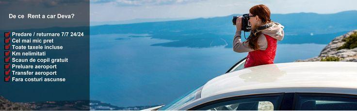 Descopera gama de servicii de inchirieri auto in Hunedoara de la Rent A Car Deva si bucura-te de calatorii reusite.