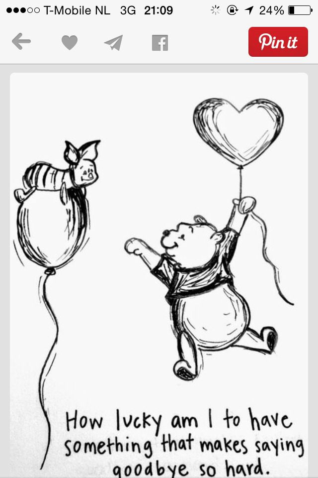 Goodbye Quotes Sayings Winnie The Pooh Great Quote Slidehdco