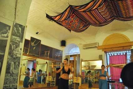 danza orientale(danza del ventre) stage di luglio 2012