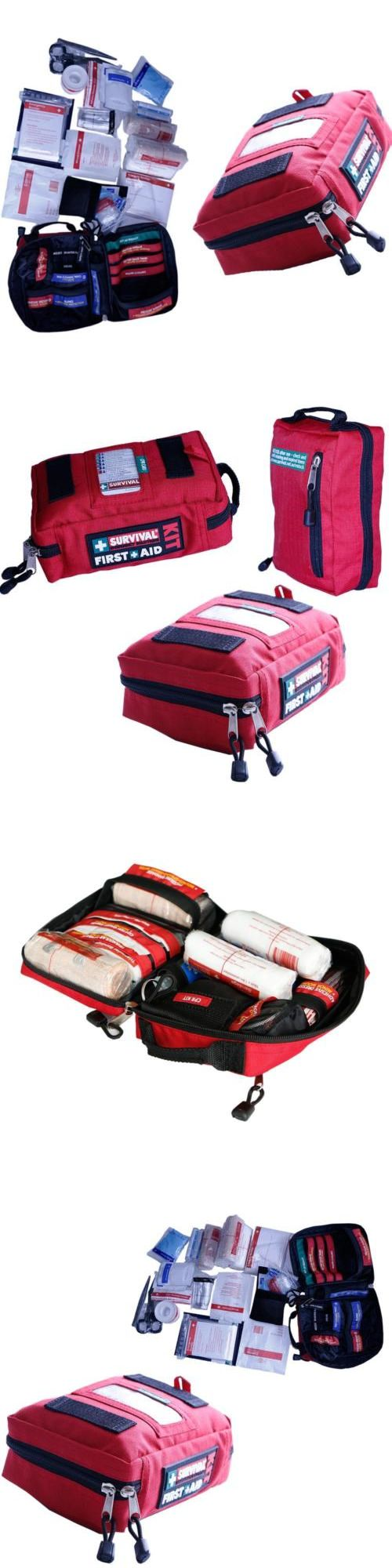 Kits and Bags: First Aid Kit Pack Emergency Home Outdoor Treatment Survival Medical Rescue Bag -> BUY IT NOW ONLY: $32.99 on eBay!