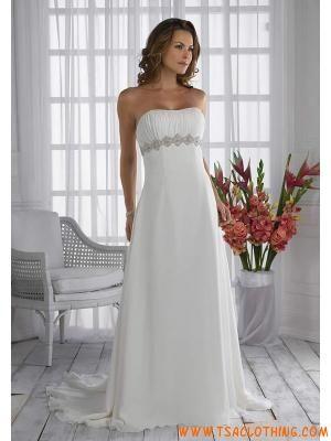 schede Texturood chiffon eenvopd jurken
