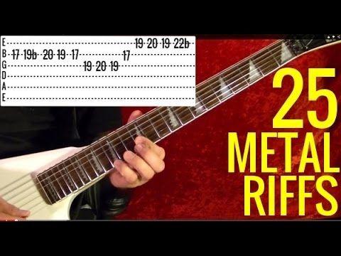 25 BEST HEAVY METAL RIFFS EVER! Sabbath - Ozzy - Judas Prist - Metallica - Iron Maiden - Scorpions - YouTube