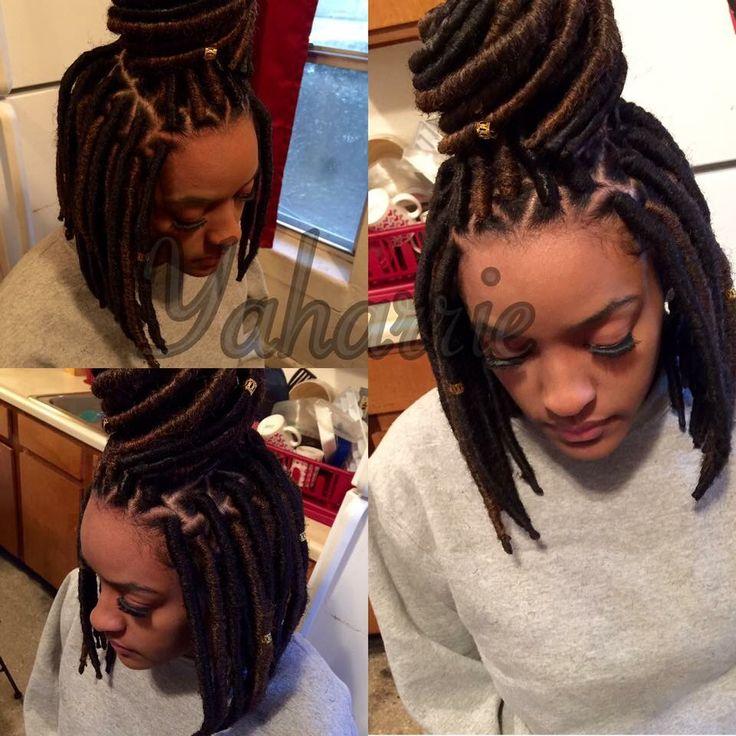 Short Faux Dreads Faux Dreads Hair Styles Hair Game