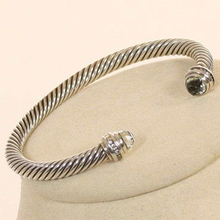 david yurman cable collection sterling silver bracelet