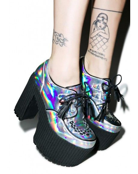 Creep Queen platforms. I just got these in black and they are amazing!