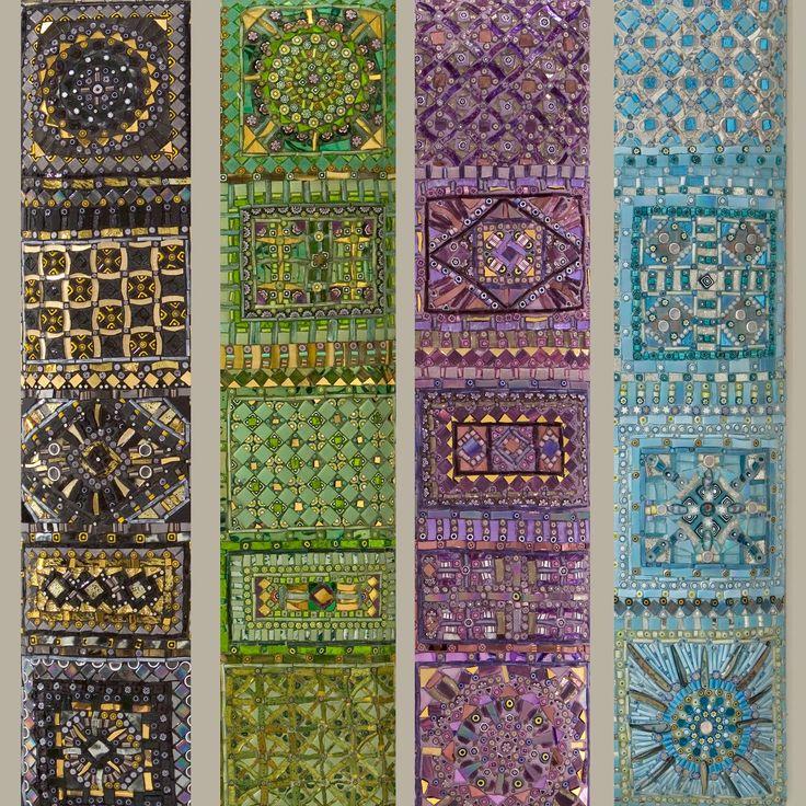 Specchi in mosaico di Dusciana Bravura