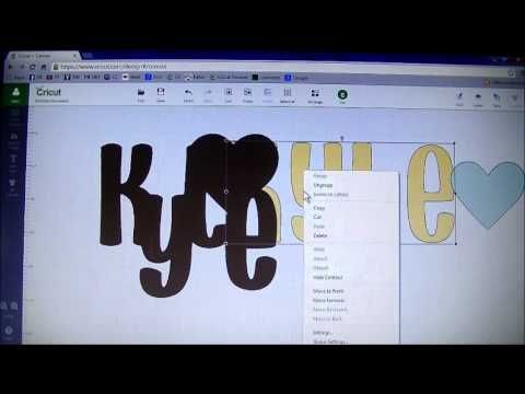 Stacy Williams: Cricut Explore Weld & Shadow Text - YouTube #video