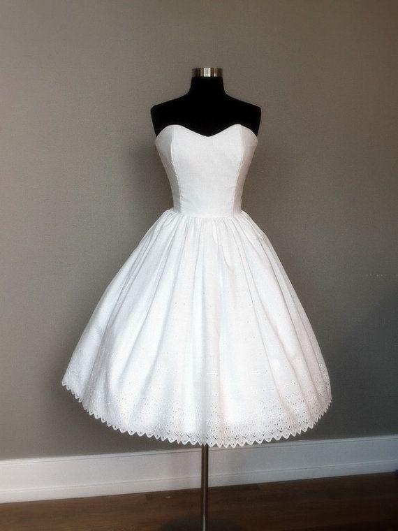 Jolies robes courtes à moins de 400 euros : French Knot Couture sur Etsy
