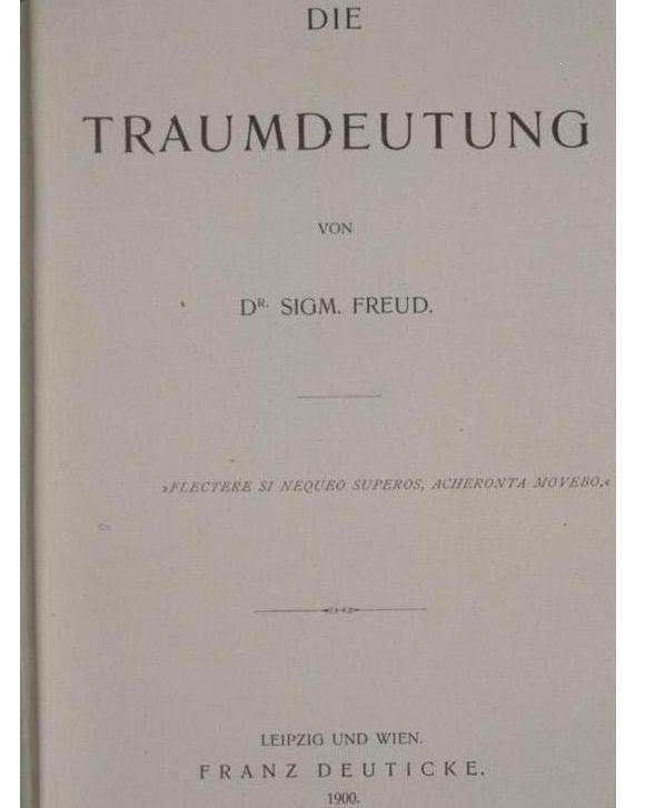 Teoría Freud sobre la interpretación de sueños